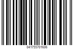 Agua Fresca UPC Bar Code UPC: 041755701606