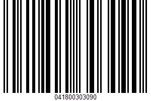 100% White Juice UPC Bar Code UPC: 041800303090