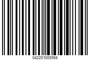 A Collection Of Fine Belgian Chocolates UPC Bar Code UPC: 042201000984