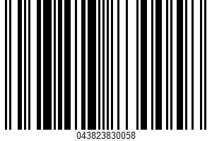 Alaskan Sockeye Salmon Burger UPC Bar Code UPC: 043823830058