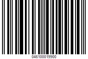Aged Vermont White Cheddar UPC Bar Code UPC: 046100019900