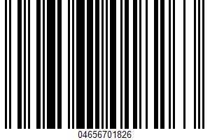 Adjustable Grinder UPC Bar Code UPC: 04656701826