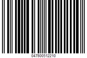 Accent, Flavor Enhancer UPC Bar Code UPC: 047800512210