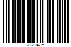 Ackees In Salt Water UPC Bar Code UPC: 048848762025
