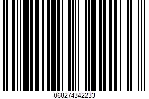 Acai Grape UPC Bar Code UPC: 068274342233