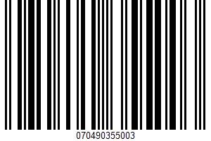 Alaska Pink Salmon UPC Bar Code UPC: 070490355003