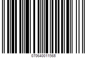 A Frozen Confection UPC Bar Code UPC: 070640011568