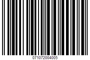 Alessi, Premium All Natural Sauce, Marinara Smooth UPC Bar Code UPC: 071072004005