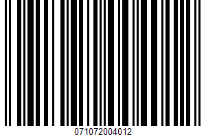Alessi, Premium All Natural Marinara Sauce UPC Bar Code UPC: 071072004012