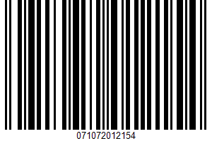 Alessi, Coarse Sea Salt UPC Bar Code UPC: 071072012154