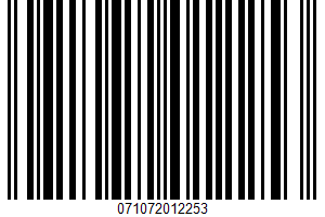 Alessi, Italian Style Green Olive Pate UPC Bar Code UPC: 071072012253