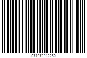 Alessi, Italian Style Calamata Black Olive Pate UPC Bar Code UPC: 071072012260