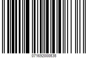 Abodo With Chipotle UPC Bar Code UPC: 071692000838