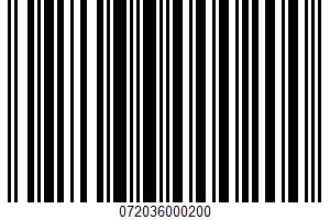 Aged Swiss Fancy Shredded Cheese UPC Bar Code UPC: 072036000200