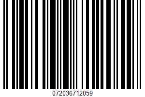 Apple Sauce UPC Bar Code UPC: 072036712059
