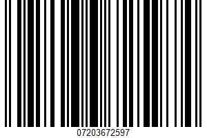 Aioli UPC Bar Code UPC: 07203672597