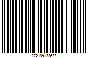 Burrito UPC Bar Code UPC: 072169122657