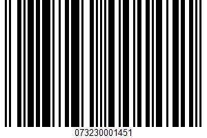 Sardines In Water UPC Bar Code UPC: 073230001451