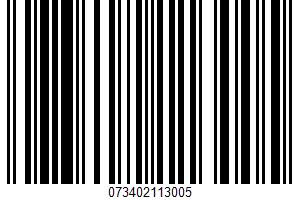 Light White Bread UPC Bar Code UPC: 073402113005