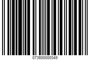 Ale UPC Bar Code UPC: 073800000549