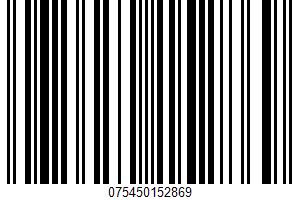 Alaska Pollock Fillets UPC Bar Code UPC: 075450152869