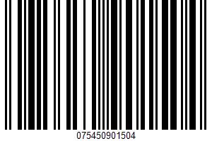 Alaska Cod Fillets UPC Bar Code UPC: 075450901504