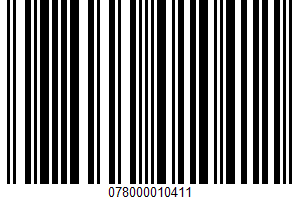 Diet 7up, Naturally Flavored Caffeine Free Soda UPC Bar Code UPC: 078000010411