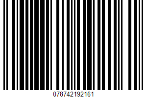 Alaskan Salmon Burgers UPC Bar Code UPC: 078742192161