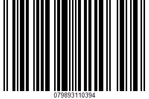 Uncured Genoa Salami UPC Bar Code UPC: 079893110394