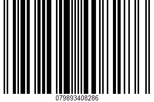 Sour Cream UPC Bar Code UPC: 079893408286