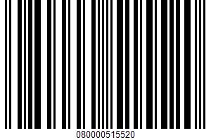 Alaskan Pink Salmon UPC Bar Code UPC: 080000515520