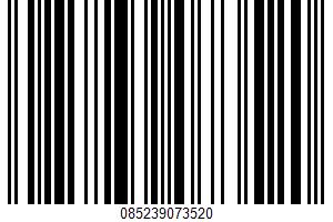 Alaskan Halibut Boneless Skinless Fillet UPC Bar Code UPC: 085239073520