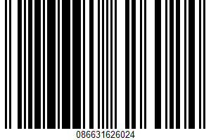 Agave Sweetener UPC Bar Code UPC: 086631626024