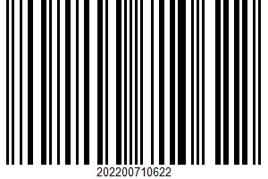 Aged Cheddar UPC Bar Code UPC: 202200710622