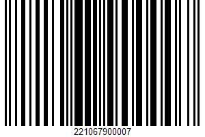 Ahold, Chicken Wings UPC Bar Code UPC: 221067900007