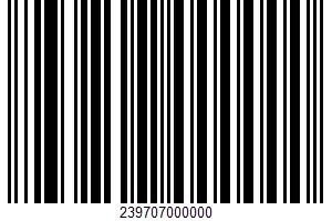 Ahold, Boneless Ham UPC Bar Code UPC: 239707000000