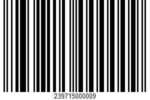 Ahold, Center Slice Smoked Ham UPC Bar Code UPC: 239715000009