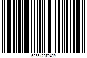 Al Natural Cheesecake UPC Bar Code UPC: 603812570459
