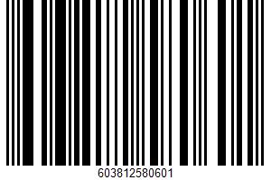 Fruit Cake UPC Bar Code UPC: 603812580601