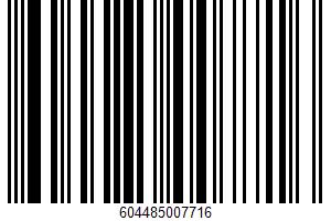 Adobo Seasoning UPC Bar Code UPC: 604485007716