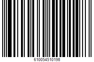 Ahi Tuna Steak UPC Bar Code UPC: 610054510198