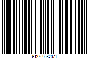 Mixed Nuts UPC Bar Code UPC: 612759062071
