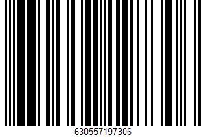 Alaska Wild Sockeye Salmon Portions UPC Bar Code UPC: 630557197306