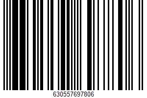 Alaska Pacific Cod Portions UPC Bar Code UPC: 630557697806