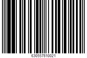 Alaska Wild Caught UPC Bar Code UPC: 630557810021