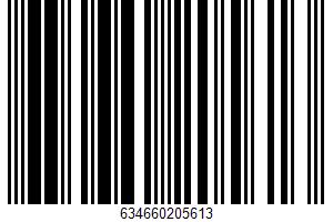 Whole Milk Mozzarella Cheese UPC Bar Code UPC: 634660205613