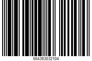 Chicken Pot Pie Bites UPC Bar Code UPC: 664383032104