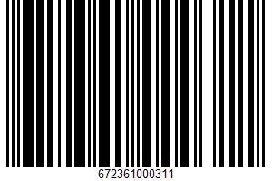 African Peri Peri Rub UPC Bar Code UPC: 672361000311