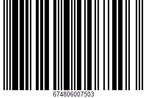 Tortilla Chips UPC Bar Code UPC: 674806007503