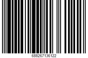 Ahold, Half Sour Whole Pickles UPC Bar Code UPC: 688267136122